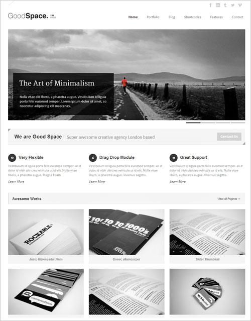 Good-Space-Best-Responsive-Minimal-WP-Theme-2013