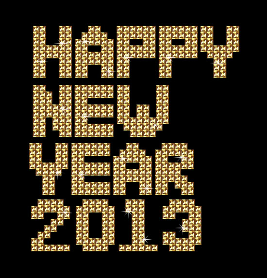 Happy-new-year-golden-lettering