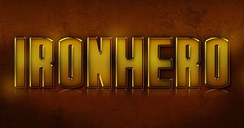 Iron-Hero-Text-Effect-photoshop-tutorial-2012
