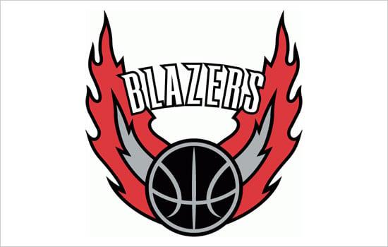 Portland-Blazers-logo-design