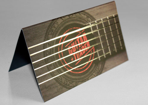 Silver foil business card design Steps Which Help You To Design Memorable Business Cards