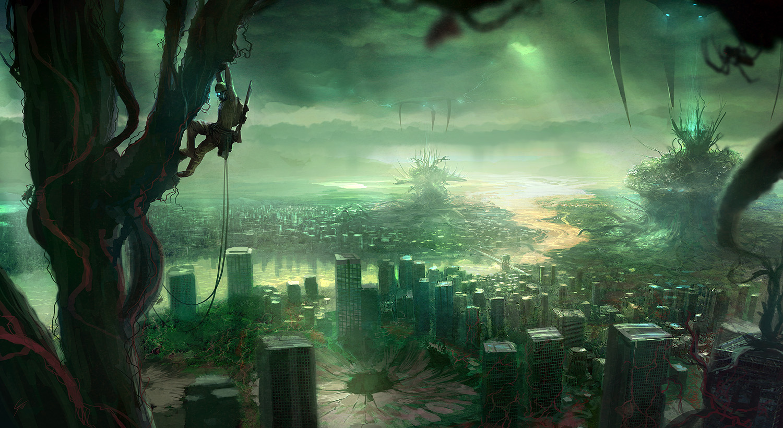 Earth Digital Art Hd Wallpaper: 20+ Amazing & Beautiful Digital Art Desktop Wallpapers In