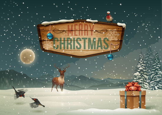 Winter-Holidays-Christmas-Card-design
