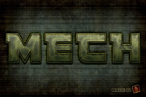 army-metallic-Text-style-photoshop-cs6-tutorial