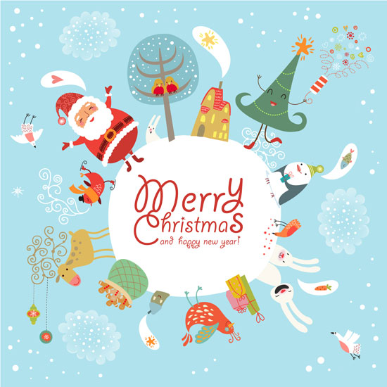funny-cute-Christmas-card-design