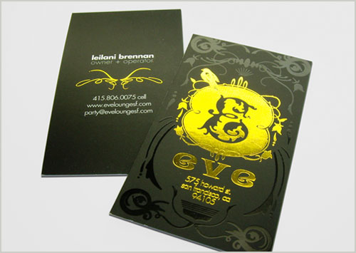 high quality Spot UV business card design 2 Steps Which Help You To Design Memorable Business Cards