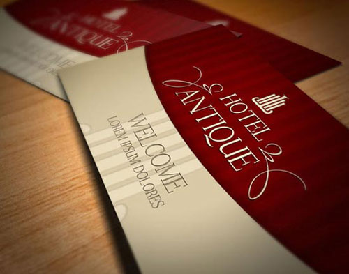 hotel business card design Steps Which Help You To Design Memorable Business Cards