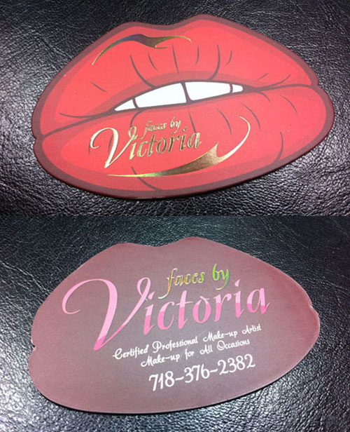 lips business design design Steps Which Help You To Design Memorable Business Cards