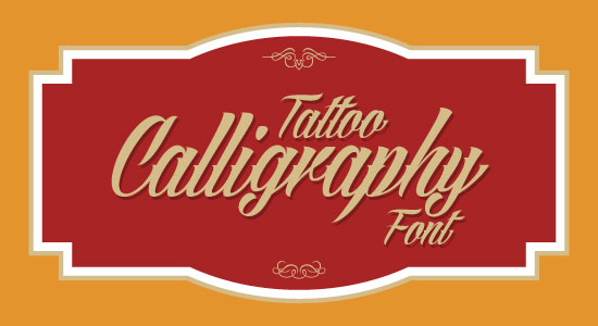 Angilla Tattoo Best Beautiful Free Tattoo Font 2013 Top 20 Best & Beautiful Free Calligraphy Fonts For Your 2013 Projects
