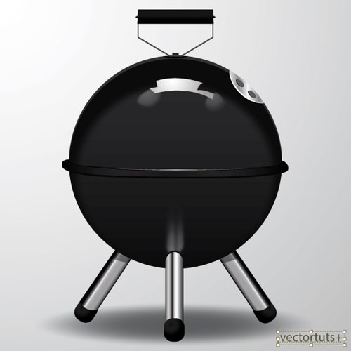 Barbecue-Picnic-Icon-in-Adobe-Illustrator-CS6-intermediate-tutorial