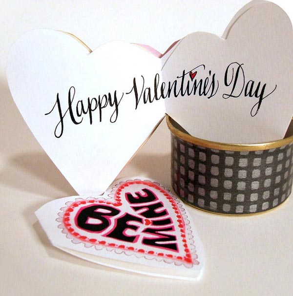 beautiful happy valentines day cards ideas