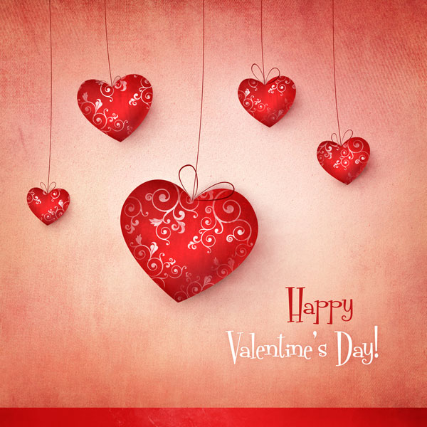 30 Happy Valentines Day Cards Love Pictures Typography Design – Beautiful Valentines Day Cards