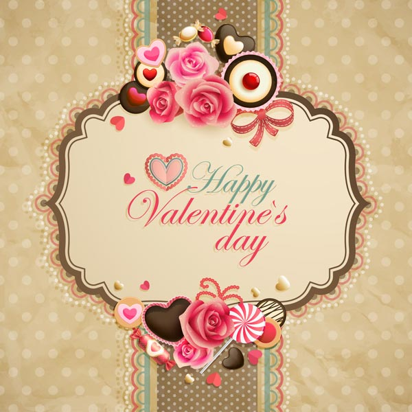 Beautiful-Vintage-Valentine's-day-Card-design