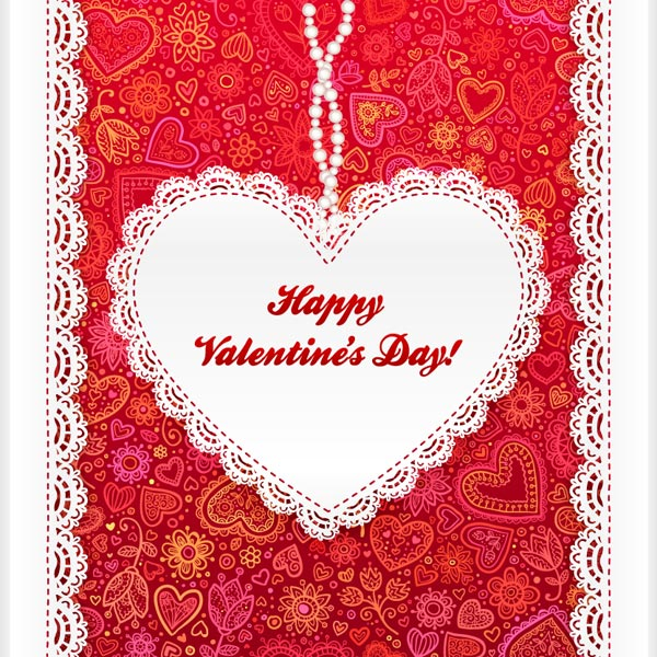 Beautiful-Valentine's-day-Heart-card-design