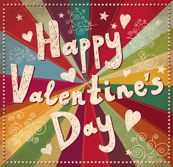 30 Happy Valentine S Day Cards Love Pictures Typography Design