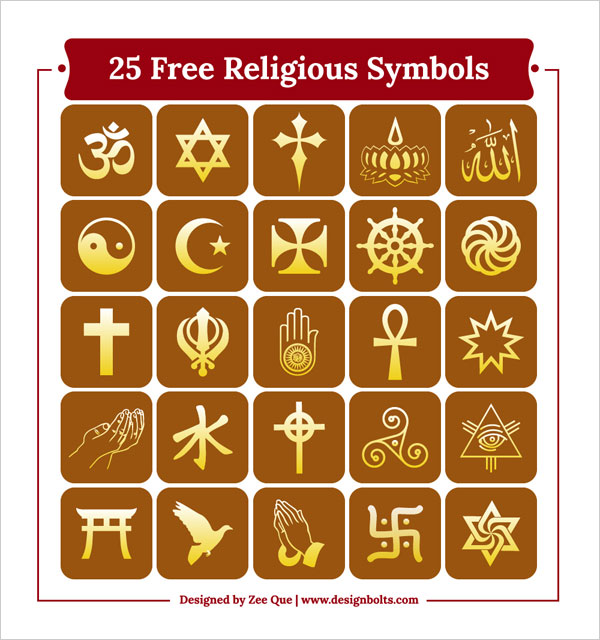 Free-Religious-Symbols-Icons-names-description