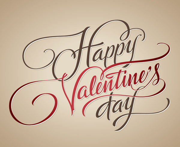Happy-valentines-day-typography