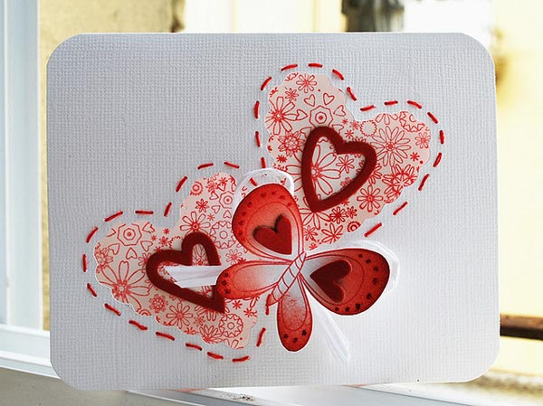 25 cute happy valentine s day cards lovely ideas for for Love in design