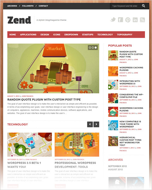 Responsive-Blog-Magazine-WordPress-theme-for-2013-blogs
