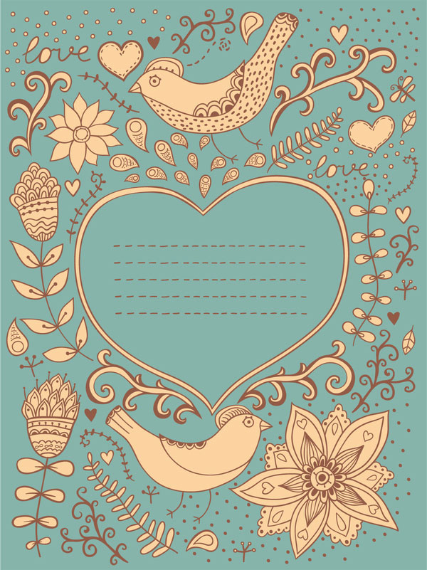 Romantic-valentine-card-design-back