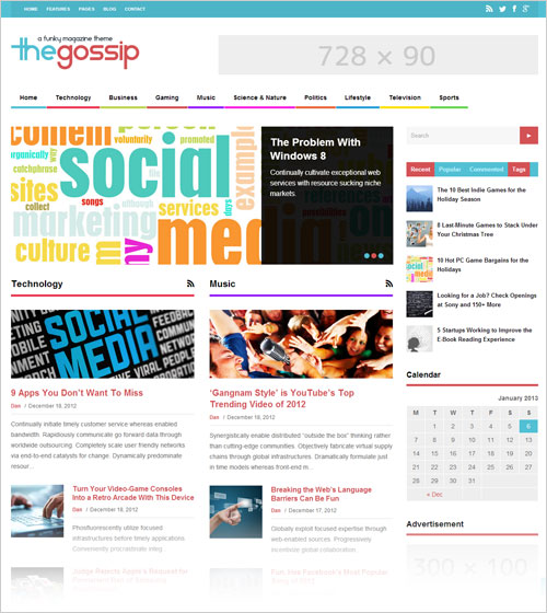 Simple-Funky-Magazine-WordPress-Theme-2013