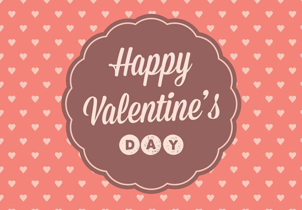 30 happy valentines day cards love pictures typography design vintage happy valentines day cards designs m4hsunfo Choice Image