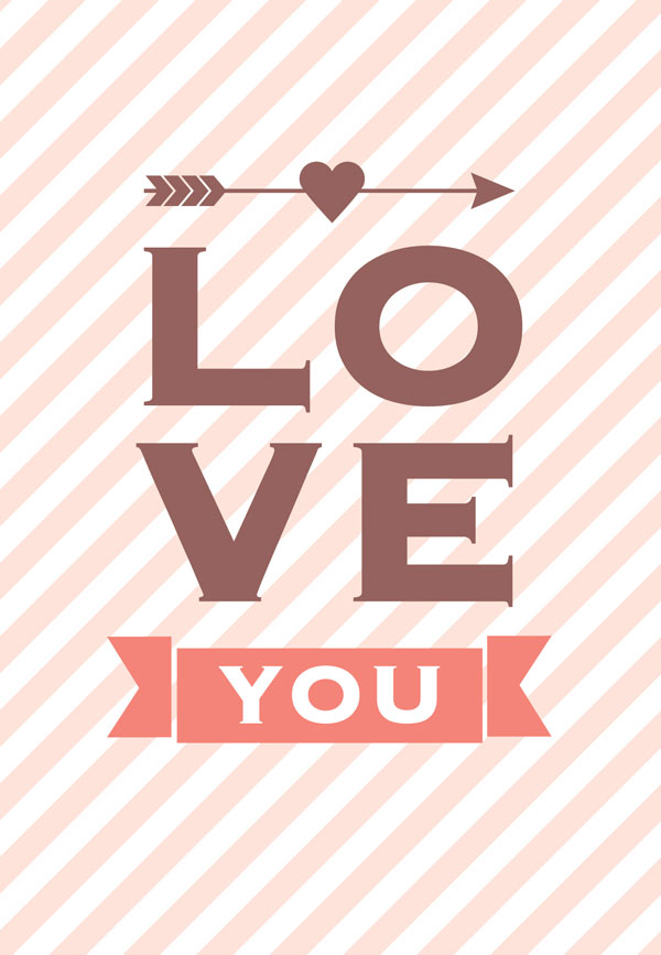 30 Happy Valentines Day Cards Love Pictures Typography Design – Simple Valentines Day Cards