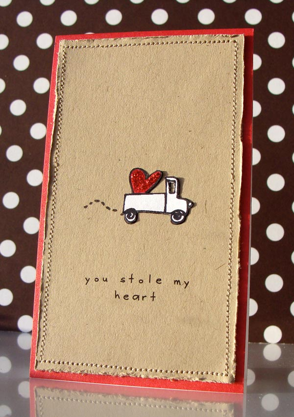 Card Making Ideas For Boyfriend Part - 41: You-stole-my-heart-valentines-day-cards-2013