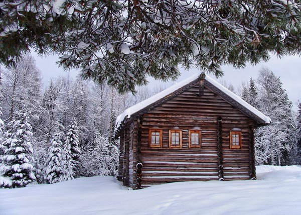 old-log-cabin-hdr-photography
