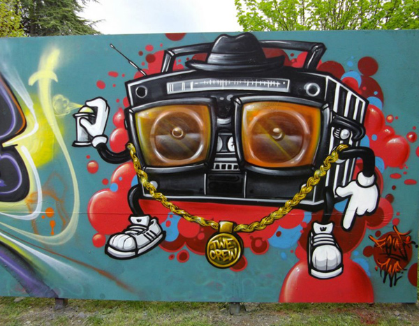 Amazing Street Art by TWE Crew 4 30+ Awe Inspiring Graffiti Street Art Paintings From Around The World