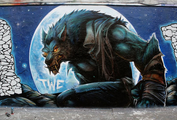 Amazing Street Art by TWE Crew 5 30+ Awe Inspiring Graffiti Street Art Paintings From Around The World