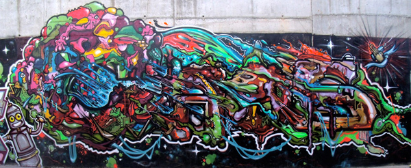 Beautiful graffiti Street art SUPOCAOS freight tank france 2 30+ Awe Inspiring Graffiti Street Art Paintings From Around The World