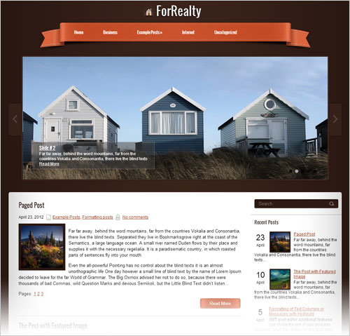 ForRealty-free-responsive-WordPress-theme-2013