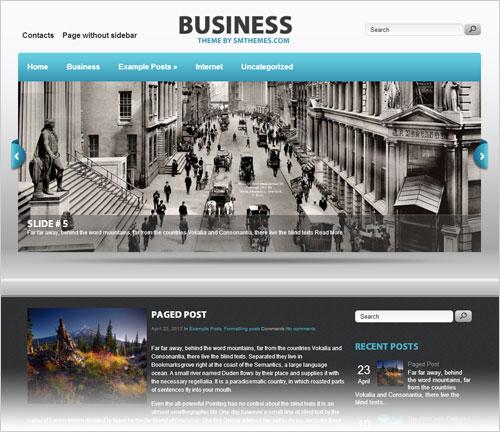 20 Best Free Responsive WordPress Themes 2013 With Premium