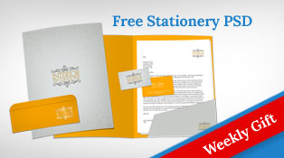 Free Stationery Mock-up PSD Template Letterhead, Business Card, Folder & Envelop