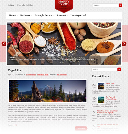 Happy-food-free-responsive-wordpress-theme-2013