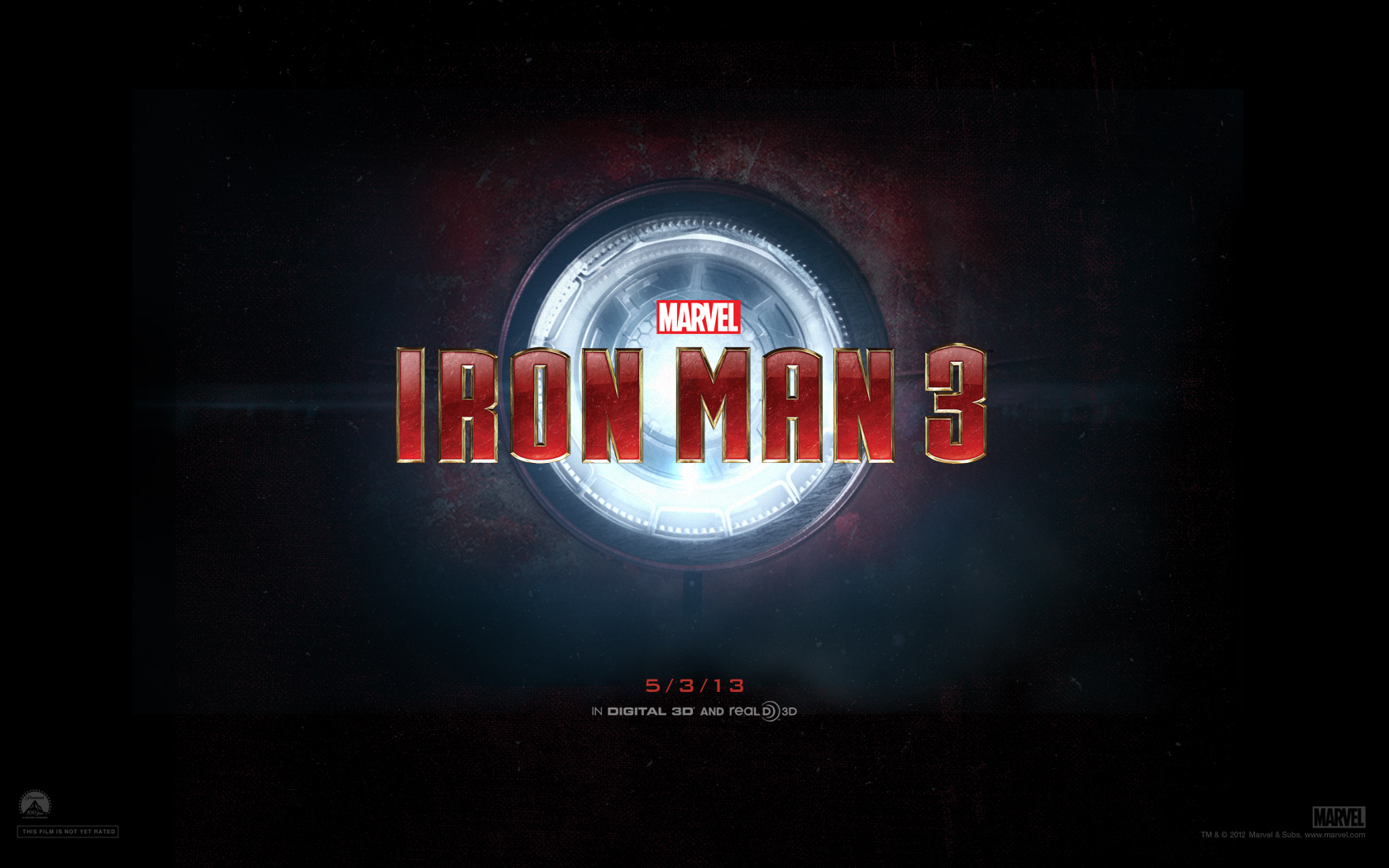Iron Man 3 Offical HD Wallpaper