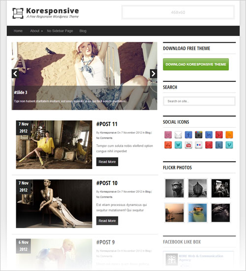 Koresponsiv-latest-Free-Responsive-WordPress-Theme-2013