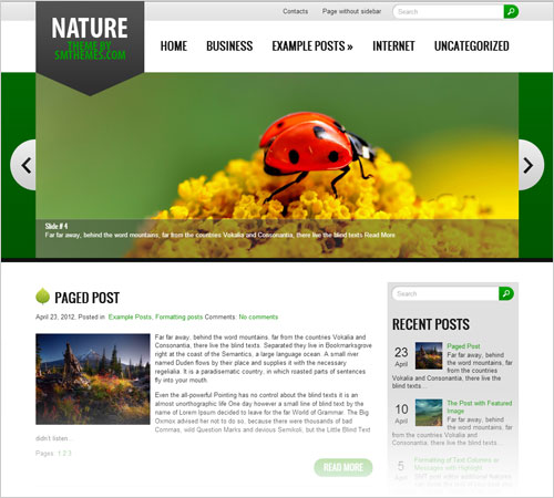 Nature-responsive-wordpress-theme-free-download