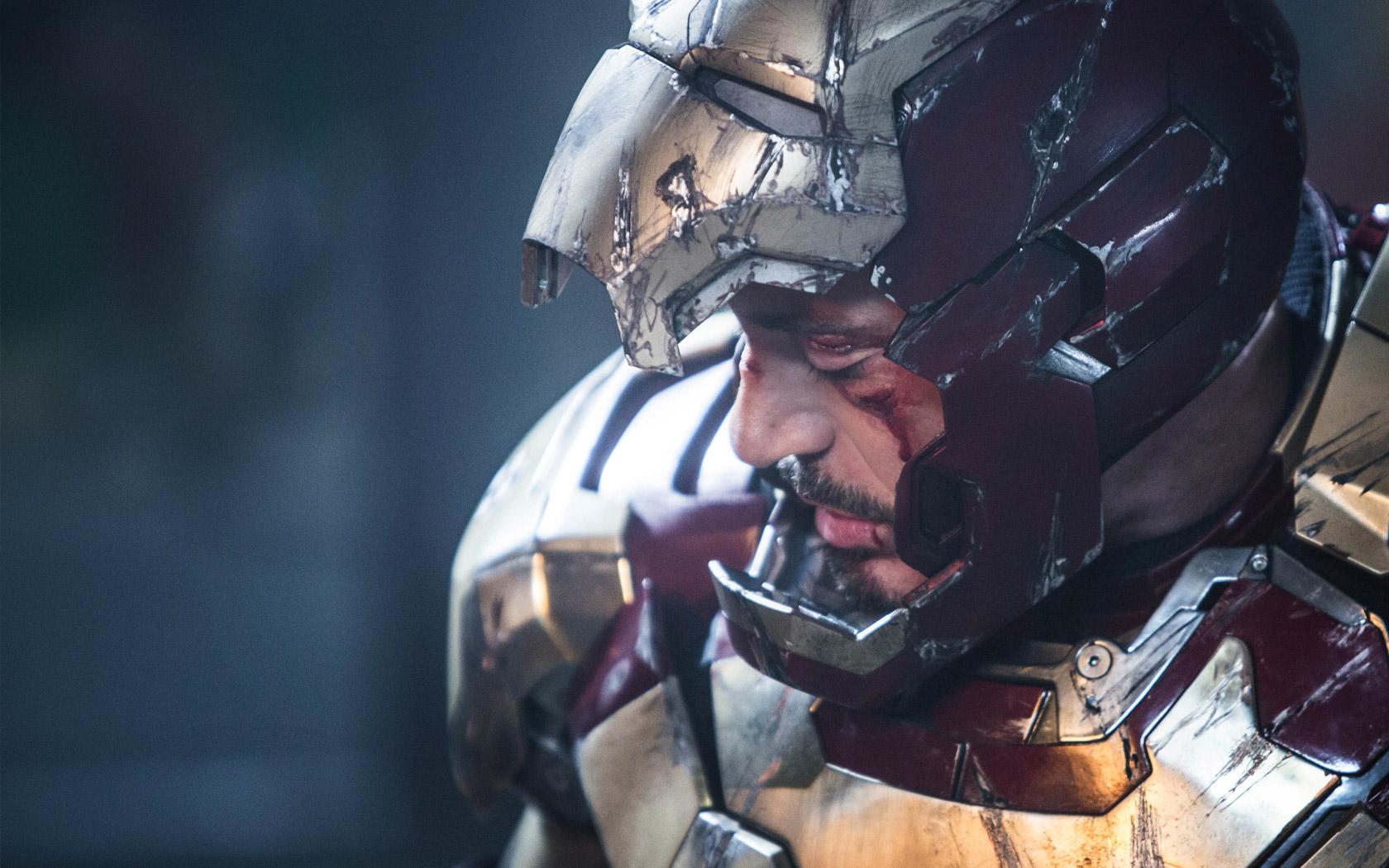 Tony Stark Iron Man 3 Wallpaper