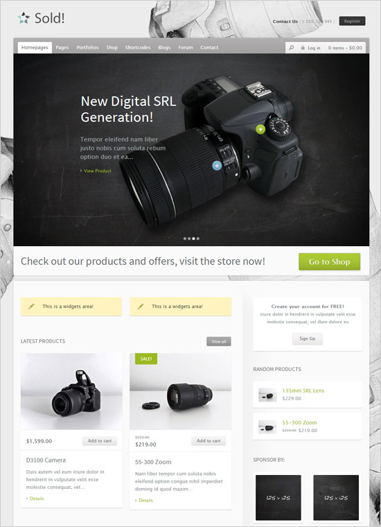 WordPress-Sold-Responsive-E-Commerce-Wp-Theme
