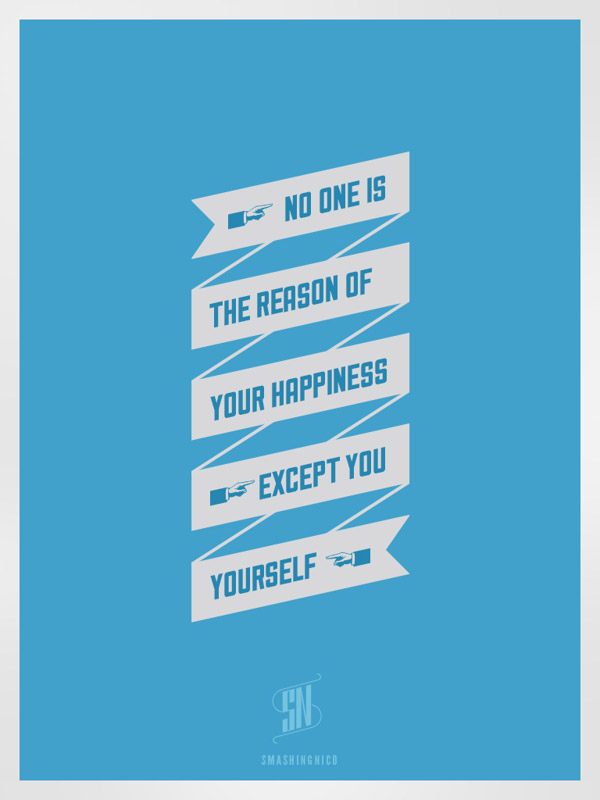 happy-quotes-posters-typography