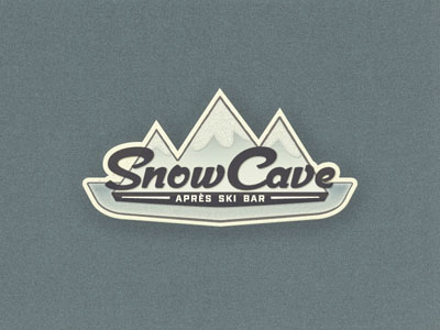 Snow Mountains logo design