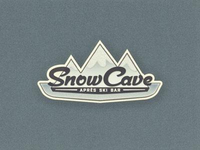 Snow Mountains logo design