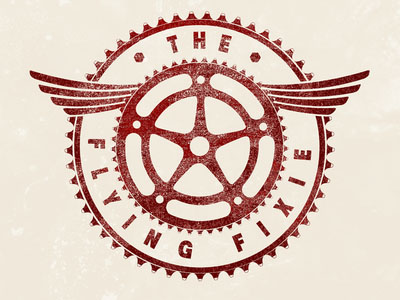 Flying-Wheel-logo-design