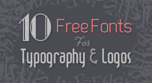 Free-Fonts-For-Typography-&-Logo-Designing