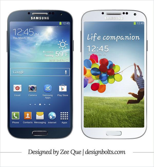 Free-Vector-Samsung-Galaxy-S4-mockup-ai