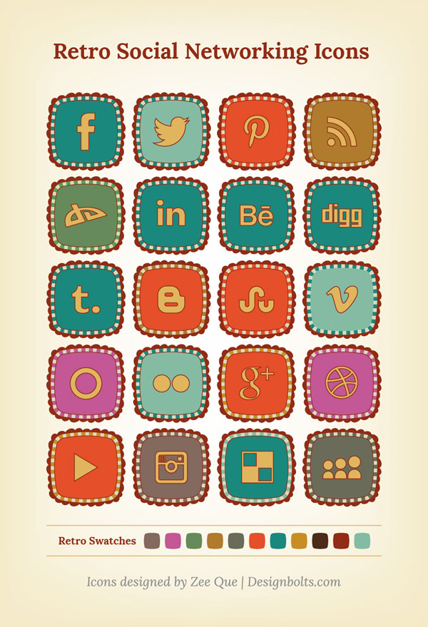 Retro-social-networking-icons-ver-3