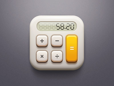 Vintage-Calculate-IOS-Icon