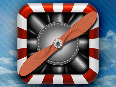 Vintage-Propeller-IOS-Icon